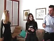 Sesso Amatoriale A Tre Con Due Teen Italiane