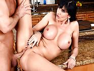 Big Titted Milf Eva Karera Slammed In Her Asshole