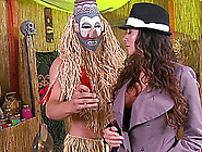 Witch Doctor Pounds His Cock Into The Milf In Boots And Stocking
