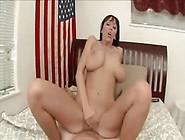 Curvy Pornstar Milf Alia Janine In Pov Sex
