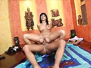 After Anal Sex She Gets Cum On Her Feet
