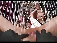 Asian Teen Made To Orgasm In A Rope Swing