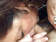 Eager Granny Giving Head - Closeup