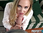Propertysex - Uncertain Real Estate Agent Fucked With Confidence
