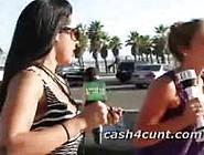 Cash For Gang Bang Workout Public Outdoors