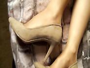 Candid Nylons Feet