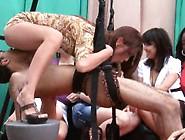 Crazy Amateurs In A Sex Furniture Show