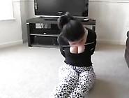 Babysitter Bound On The Sofa