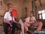 Husband Watches Blonde Wife Liz Black Get Fucked By Big Dick Bef