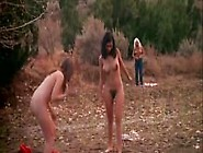 Three Naked Hairy Teens Get Naughty In River