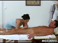 Asian Massage Girl Sucks Dick