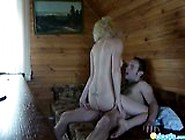 Sexy Blonde Gf Takes A Wild Cock Ride