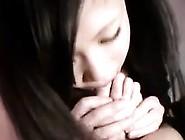 18 Year Old Japanese Girl Loves Her Feet