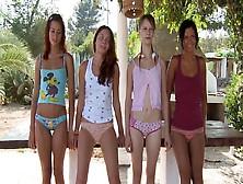 Mia,  Adria,  Beata,  Natasha Shy - Pussy Play