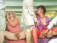Orgy With Two Nasty Grannies Who Like Their Pussies Swollen