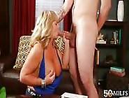 Enjoying A Mature Woman's Experience