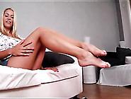 Perky Boobs Blonde Teen Amateur Strips Solo