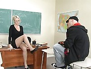 Naughty Bald Headed Dude Derrick Pierce Gets Bj From Carolyn Ree