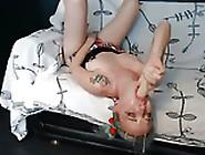 Sloppy Webcam Slut Destroys Her Throat