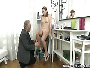 Sveta And Her Lover Bring An Older Friend Who Loves Younger Wome