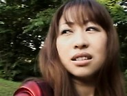 Needy Young Japanese Beauty Flashing Milk Shakes Before Sex