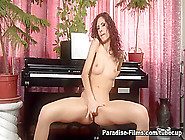 Hottest Pornstar Leanna Sweet In Incredible Solo Girl,  Redhead S