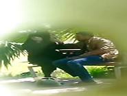 Spying On A Horny Couple Outdoors
