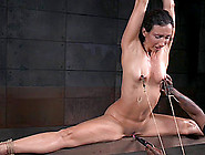 Rope Tied Tightly Around This Curvy Girl Makes Her Suffer