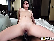 Sexy Petite Latina Gives Head And Fucked By Big Black Cock