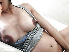 Fantastic Super Horny Lady With Big Rack Was Fucking Herself Wit