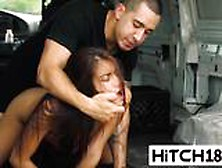 Spicy Latina Hitchhiker Michelle Martinez Gets Pussy Abused In S