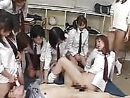 Orgy With Japanese Schoolgirls