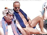 Senior Cocks Expert In Picking Up Pretty Teens Hunting Beach Bab