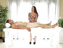 Lola Foxx Is Giving A Nice Dick Massage To Her Client,  Almost Ev