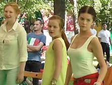 Braless Teen Nipple Show Off 1080P