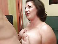 Italian Milf With Large Boobs