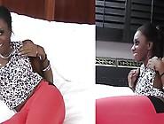 Nubian Teen Girl Gets A Facial After An Amazing Blowjob