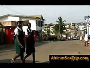 Guy Picks Up Black Hooker In Africa And Takes Her To His Hot