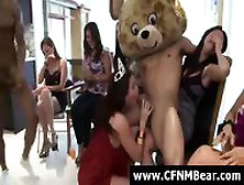 Group Of Cfnm Party Girls Sucking Stripper Cock