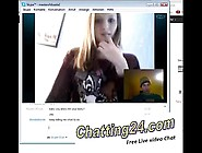 American Girl Making Sex Video Chat With A Stranger