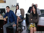 Kinky Boss Fucks Sweet Looking Secretary Karlee Grey At The Meet