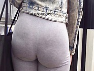 Phat Azz With Camel Toe No Panties
