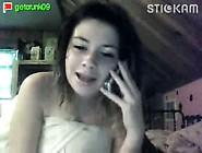 Amateur Teen Talking Dirty On Webcam