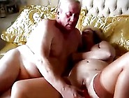 Older Fat Russian Grandma Fucks Grandpa In Bed