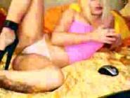 Rubia Sexy Masturbandose En Cam