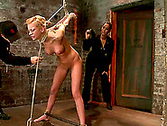 Pretty Kaylee Hilton Gets Tied Up And Dominated By A Couple