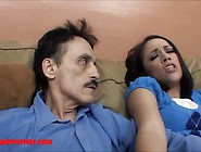 Tiny Asian Teen Tight Pussy Gets Broken By Dirty Old Man And Get
