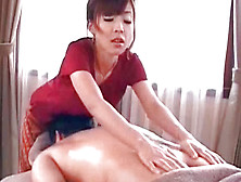 Experienced And Cute Japanese Girl Is Doing Amazing Massage
