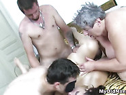 Crazy Orgy With Fat Granny