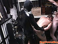 Gaybait Pawn Dude Fucked By A Gimp